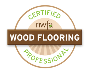 Hardwood Floor Depot is professionally certified with the National Wood Flooring Association (NWFA).