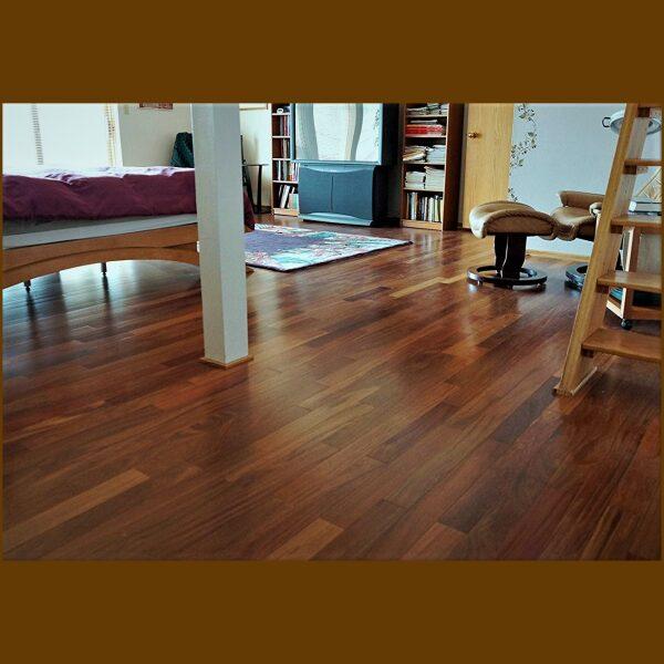 Prefinished Solid Brazilian Teak Premium Grade Hardwood Flooring