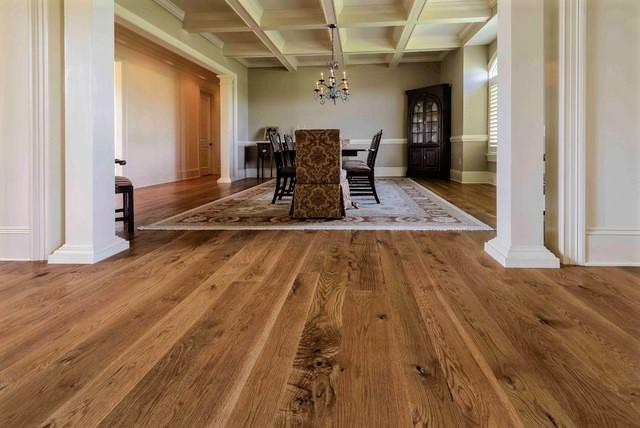White Oak Unfinished Hardwood On