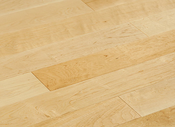 Maple Prefinished Engineered Smooth Natural Hardwood Flooring