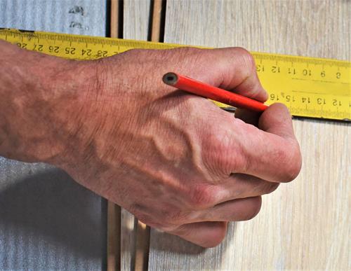 Measuring hardwood flooring