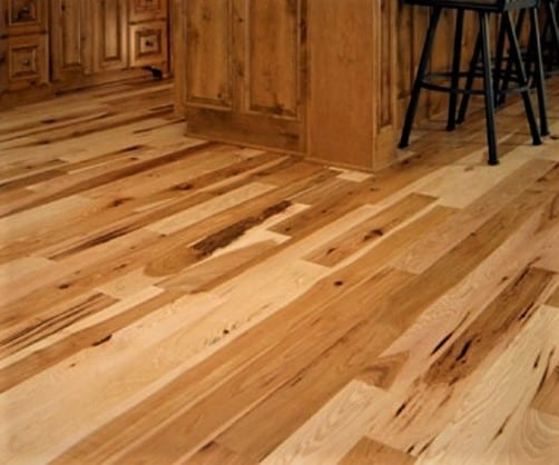 Hickory Hardwood (Kitchen Area) Flooring