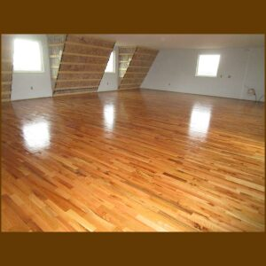 Red Oak Hardwood Flooring Utility Grade (Common Room)