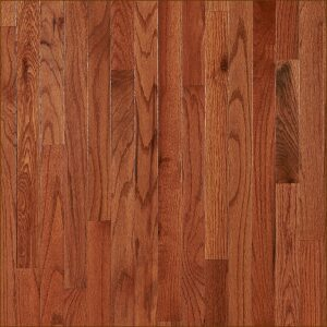 White Oak Hardwood Flooring Prefinished (Utility Grade) with Gunstock Stain