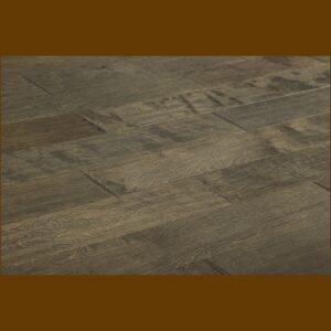 "Birch Prefinished Engineered Hand Scraped ""Brown Forest"" Hardwood Flooring"