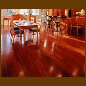 Brazilian Cherry Premium Grade Unfinished Solid Hardwood Flooring