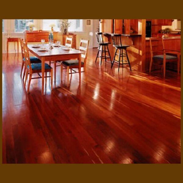 Brazilian Cherry Prefinished Engineered Hardwood Flooring