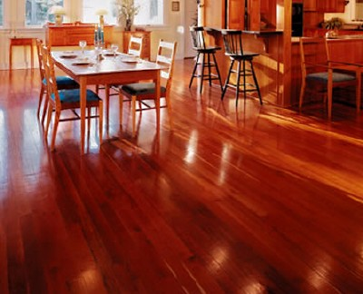 Brazilian Cherry Prefinished Engineered Hardwood Flooring