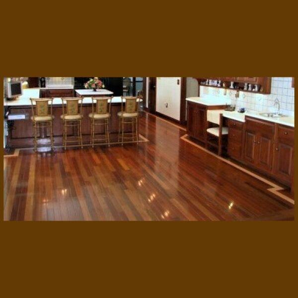 Brazilian Walnut Premium Grade Unfinished Solid Hardwood Flooring
