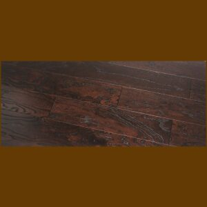 "Elm Prefinished Engineered Wire Brushed ""Toast"" Hardwood Flooring"