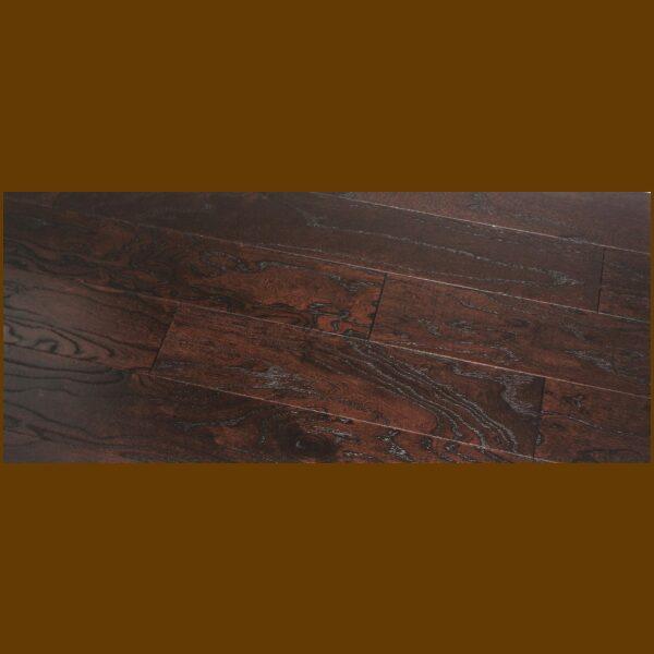 """Elm Prefinished Engineered Wire Brushed """"Toast"""" Hardwood Flooring"""