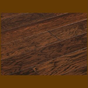 "Hickory Prefinished Engineered Hand Scraped ""Patina"" Hardwood Flooring"