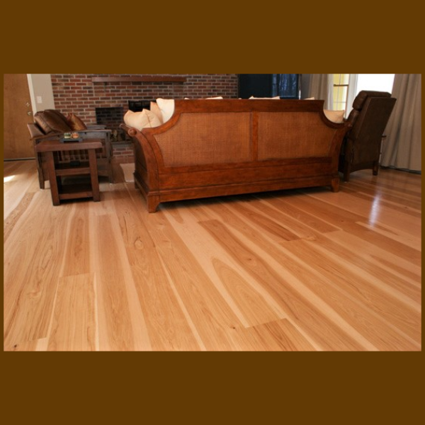 Hickory Select & Better Grade Unfinished Hardwood Flooring
