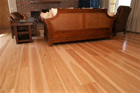 Hickory Unfinished Wood Long Lengths Hardwood Floor Depot