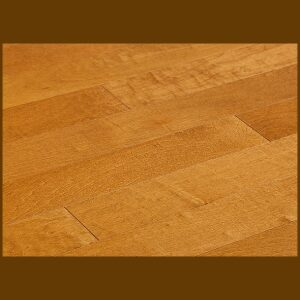 "Maple Prefinished Engineered Smooth ""Auburn"" Hardwood Flooring"