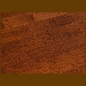"Maple Prefinished Engineered Hand Scraped ""Haystack"" Hardwood Flooring"