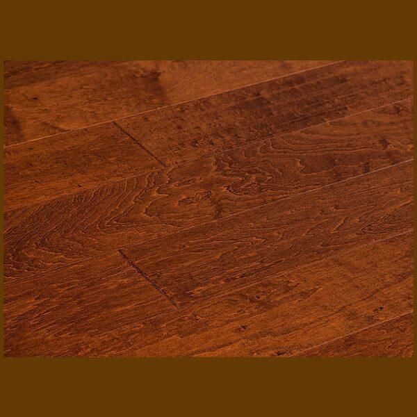 "Maple Prefinished Engineered Hand Scraped ""Haystack"" Hardwood Flooring"