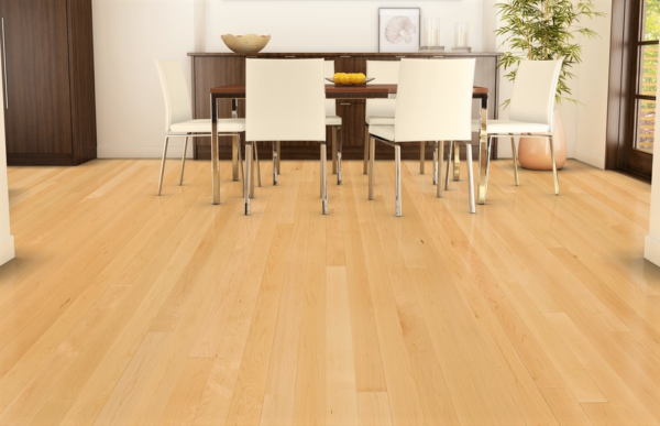 Maple Select & Better Grade (1st Grade) Unfinished Solid Hardwood Flooring