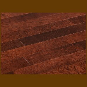 "Maple Prefinished Engineered Smooth ""Suede"" Hardwood Flooring"
