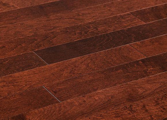 "Maple Prefinished Engineered Smooth ""Suede"" Hardwood Flooring"