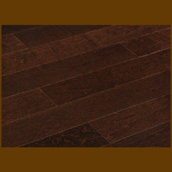 "Maple Prefinished Engineered Smooth ""Toasted"" Hardwood Flooring"