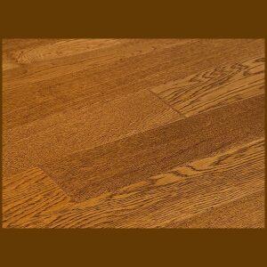 "White Oak Prefinished Engineered Hand Scraped ""Burlop"" Hardwood Flooring"