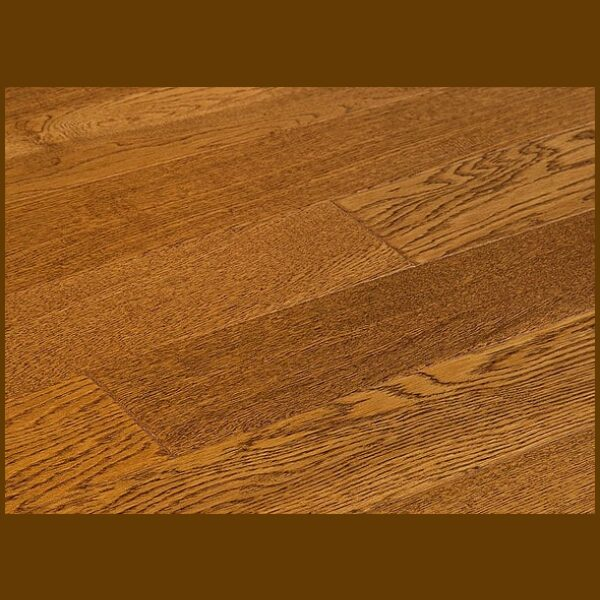 "White Oak Prefinished Engineered Hand Scraped ""Burlop"" Hardwood Flooring"