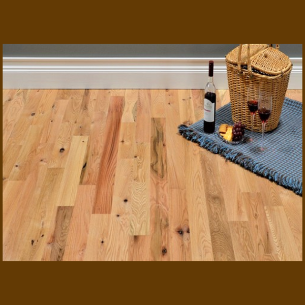 Red Oak #2 Common Grade Unfinished Solid Hardwood Flooring