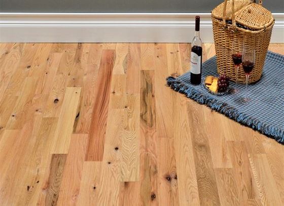 Red Oak 2 Common Grade Unfinished Solid Hardwood Flooring