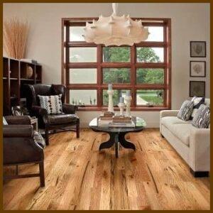 White Oak #3 Common/Utility Grade Unfinished Solid Hardwood Flooring