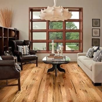 White Oak #3 Common/Utility Grade Unfinished Solid Hardwood Flooring