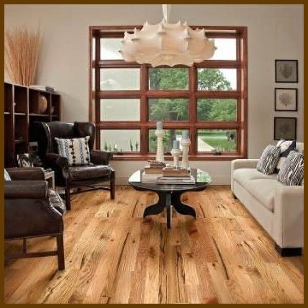 Red Oak #3 Common/Utility Grade Unfinished Solid Hardwood Flooring