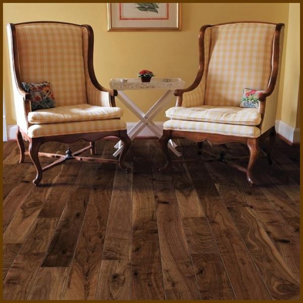 Walnut #1 Common Grade Unfinished Solid Hardwood Flooring