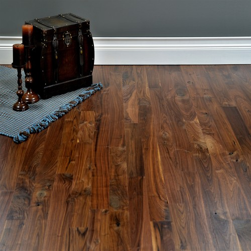 Walnut 2 Common Grade Unfinished Solid Hardwood Flooring Hardwood