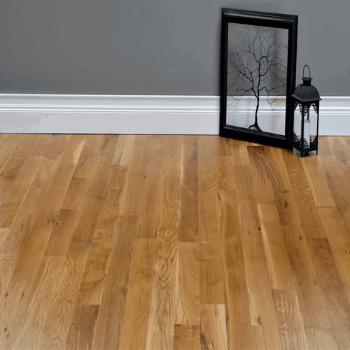 White Oak #1 Common Grade Unfinished Solid Hardwood Flooring