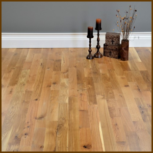 White Oak #2 Common Grade Unfinished Solid Hardwood Flooring