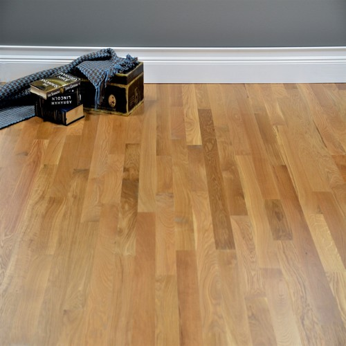 White Oak Unfinished Solid Select Better Grade Hardwood Flooring