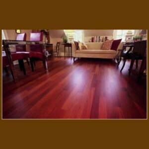 Santos Mahogany Hardwood Flooring for sale